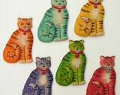 Cat Cookies Cat Lover Gift Pet Lover Gift Animal Cookies Cookie Gift Edible Gift Party Favors, Hostess Gift, Baked Goods