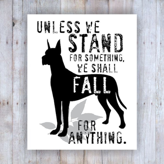 great dane art great dane decor great dane poster great dane print - Dane Decor