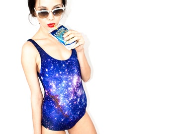 SALE 75% OFF. SMC Galaxy Bathing Suit.
