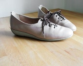 Vintage Leather Naturalizer Sportlites Ballet Sneaker Shoes sz 6.5