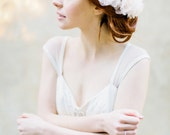 Bridal Floral Hair comb - Style 326