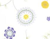 Lavender Yellow Gray Curtains Floral Damask Curtain Panels Drapery Baby Nursery Purple Window Treatments Drapes Set Pair