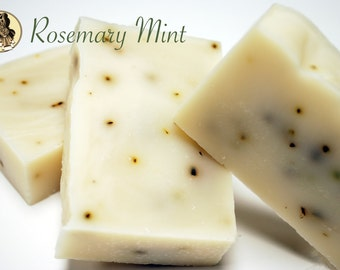 Rosemary Mint Creamy Shea Butter Soap