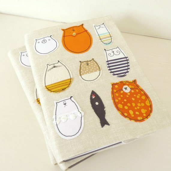 Cat Notebook : Lovely Stella A5 Notebook