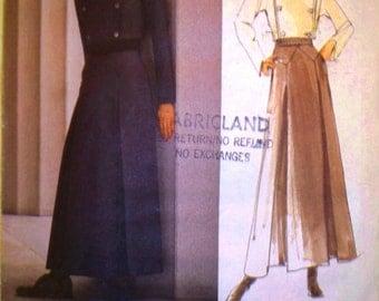 vogue paris original pattern 2203 ~ state of claude montana jacket and skirt ~ (1998) ~ UNCUT