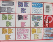 UNCUT Butterick Sewing Pattern 5568 Girls' Top, Skort & Pants sizes 12-14-16