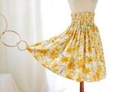 Golden Lily Vintage Circle Skirt