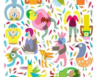 Party 01 Print