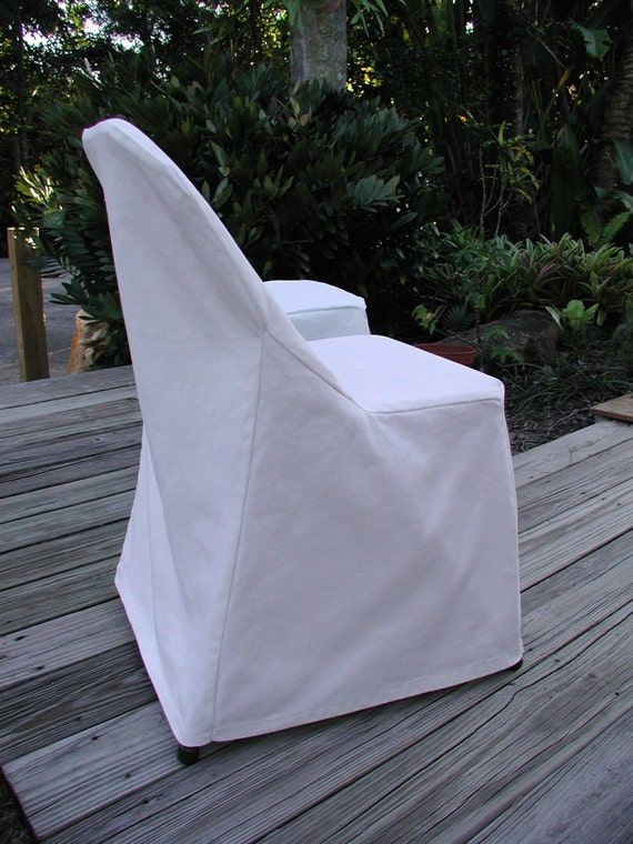 Folding Chair White Slipcovers Custom Chair Covers Chair