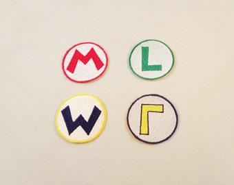 2 inch Super Mario Bros - Main Characters