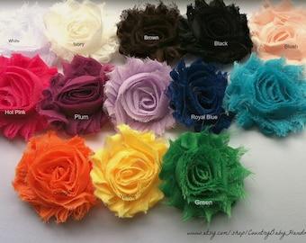 Shabby Rose Flower Pin...Broach...Brooch...Shabby Rose...Shabby Rose Pin...Sweater Pin...Embellishment