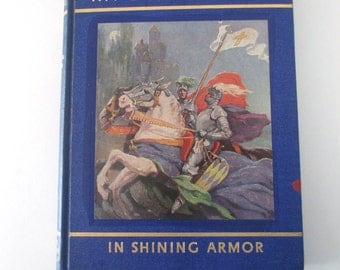 Book My Book House, In Shining Armor, #11, 1937, Olive Beaupre Miller, colorful classic poems, stories of adventure for children