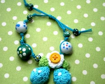 Sweet pea bracelet