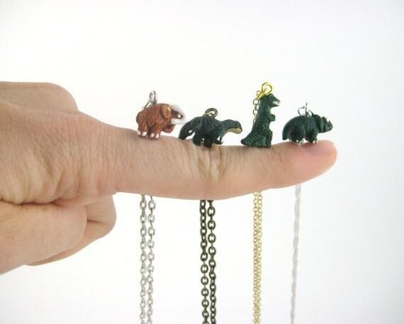 Tiny Dinosaur Necklace