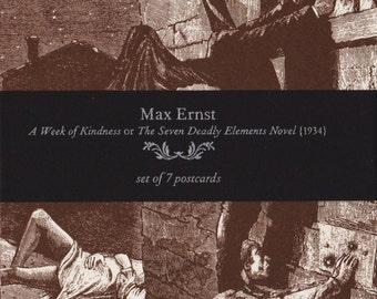 Max Ernst Postcard Pack