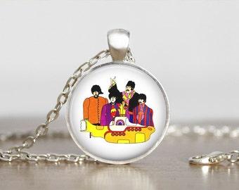 The Beatles Jewelry Pendant
