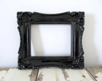 Fancy Black Frame