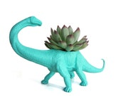 Sophie the PLANTED Apatosaurus - the Original Toy Planter