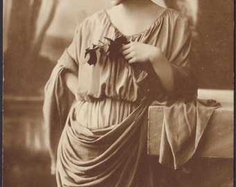 Classical Beauty with Olive Branch, by DIX, circa 1910s