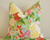 Floral Love Pillow Cover
