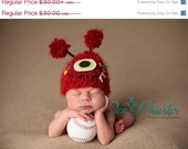 monster hat.. newborn hat.. baby hat.. photo prop.... photography prop... .Newborn photo prop..20% off with code VALEN1 at checkout