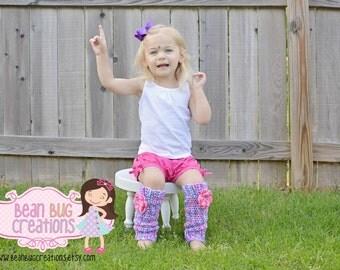 Leg warmers / legwarmers / crochet leg warmer / pink leg warmers / purple leg warmers / custom / you choose size and color
