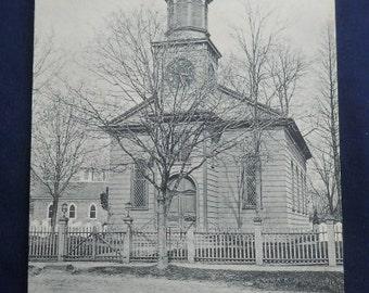 Old Christ Church, Shrewsburg, NJ - Vintage New Jersey Postcard
