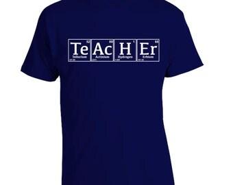 Teacher Shirt, Science Teacher Shirt, Teacher Appreciation, Periodic Table, Science Geek T-Shirt