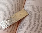 Personalized Bookmark , Textured tin bookmark  , Boyfriend Gift,  , Anniversary gift for man Art