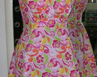 Retro Style Sundress Pink