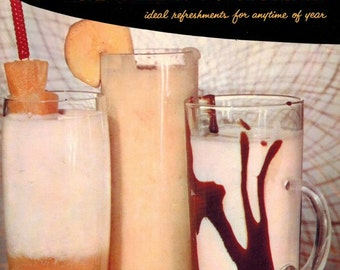 Vintage 1950s GOOD HOUSEKEEPING'S Ice Creams & Cool Drinks Mid Century Summer Recipe Book