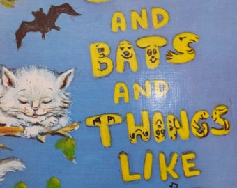 Cats and Bats and Things Like That by V. Gilbert Beers - 1973  -  vintage children's book