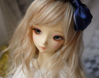 Ribbon Bow Knot Hair Band for BJD SD and MSD/YoSD Dolls 5 Colors Available (Type 12)