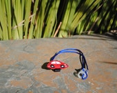Red Car - Hearing Aid Cord or Cochlear Implant Cord