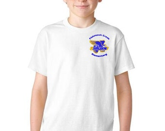 FishHawk Creek Elementary Uniform Standard Cotton T-Shirt Youth & Adult 4 Colors to Choose From