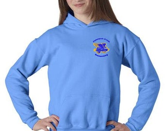 FishHawk Creek Elementary Youth Heavy Blend Hooded Sweatshirt  Uniform 3 Colors to Choose From