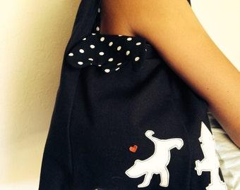 Tote Black Small Bag