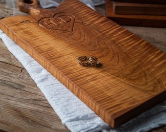 Walnut Rustic Serving Board Wood Breadboard Cutting Board