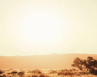 Sunset Landscape Photography Print.