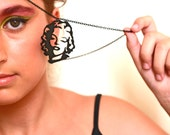 Marilyn Monroe Necklace - Image Jewelry - Fun Jewelry - Fashion Jewelry - Affordable Jewelry - Gift For Her