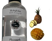 The Right Spot™ Edible Massage Oil - Pineapple Mango Natural Vegan, water based, sensual warming Romantic gift w/ Aloe by Eat Me