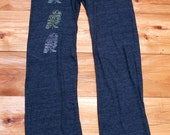 the three amigos Owl Pants, Yoga Pants, Lounge Pants, Maternity Pants, S,M,L,XL