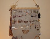 Jewelry Organizer Hanging Jewelry Holder Display   'Margo'