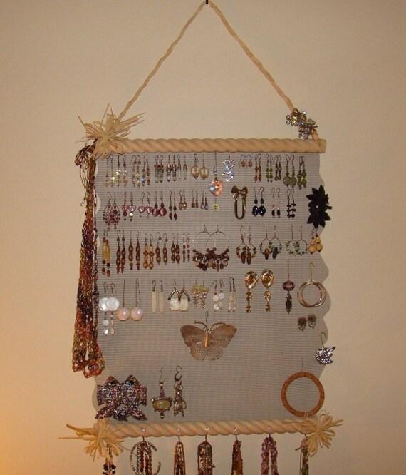 Jewelry Organizer Hanging Jewelry Holder Display   'Margo'