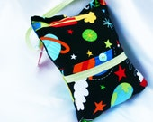 Space Tooth Fairy Pillow Homemade Designer Fabric  - By Jennifer Star