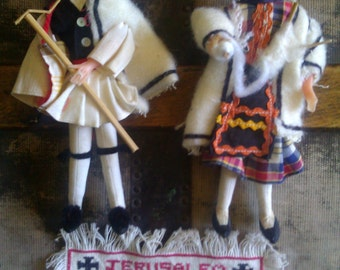 Souvenir Dolls / Jerusalem / Holy Land