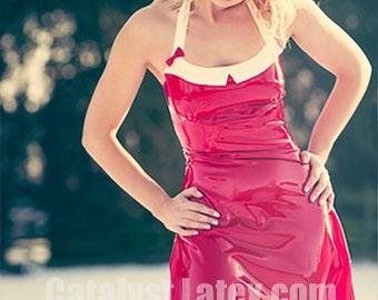 Latex Day Swing Dress