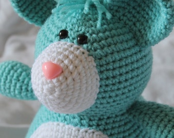 Morris the Mouse - Amigurumi Plush Crochet PATTERN ONLY (PDF)