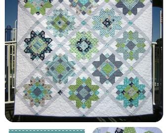 Buttercup Quilt Pattern--Fat Quarter Friendly with BONUS Baby Quilt Pattern