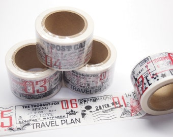Washi Tape - travel (30mm X 10M)
